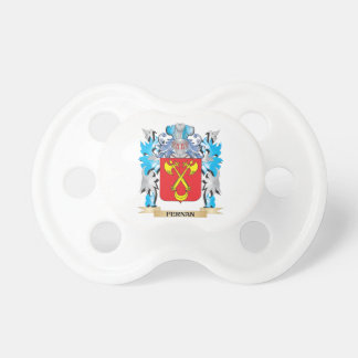 Fernan Coat of Arms - Family Crest Baby Pacifiers
