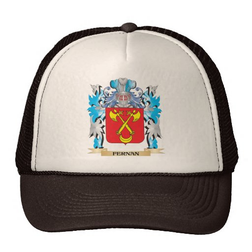 Fernan Coat of Arms - Family Crest Hats
