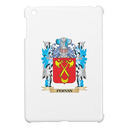 Fernan Coat of Arms - Family Crest Case For The iPad Mini