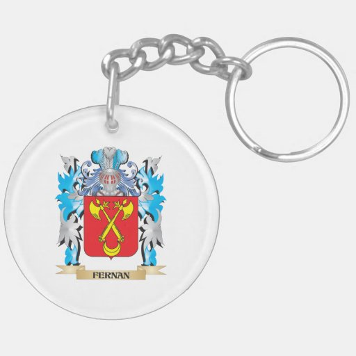 Fernan Coat of Arms - Family Crest Keychains