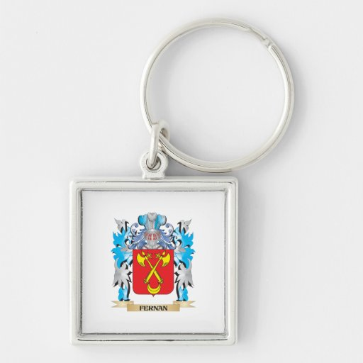 Fernan Coat of Arms - Family Crest Keychain