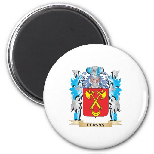 Fernan Coat of Arms - Family Crest Refrigerator Magnets