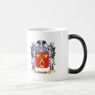 Fernan Coat of Arms - Family Crest Morphing Mug