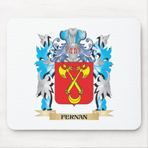 Fernan Coat of Arms - Family Crest Mousepad