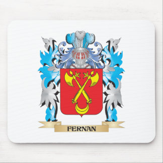 Fernan Coat of Arms - Family Crest Mousepad