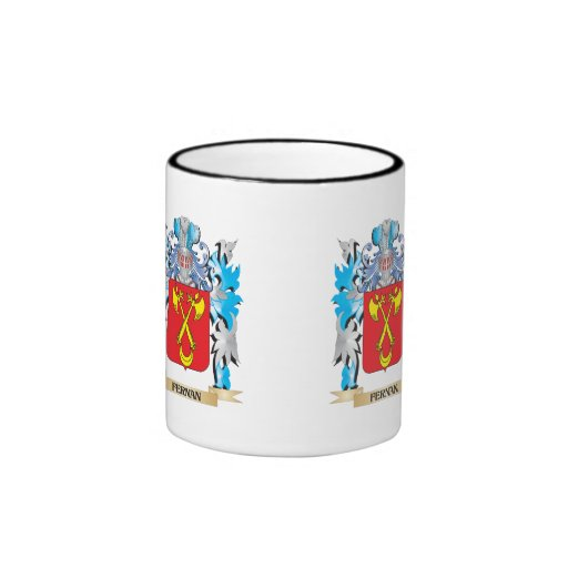 Fernan Coat of Arms - Family Crest Coffee Mugs