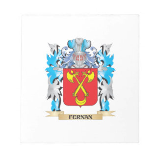 Fernan Coat of Arms - Family Crest Note Pad