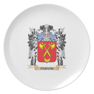 Fernan Coat of Arms - Family Crest Party Plate