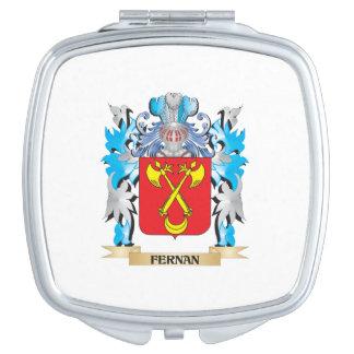 Fernan Coat of Arms - Family Crest Makeup Mirror