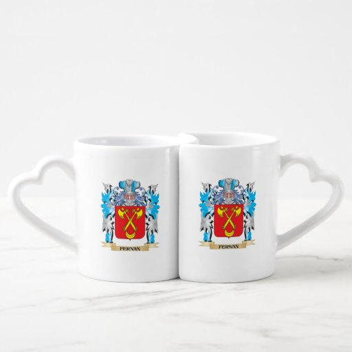 Fernan Coat of Arms - Family Crest Couples Mug
