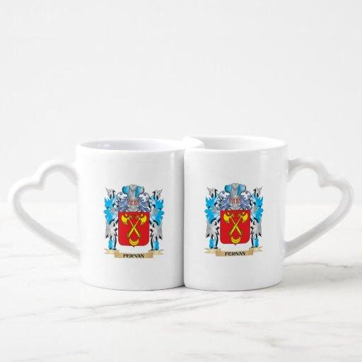Fernan Coat of Arms - Family Crest Couples Mug