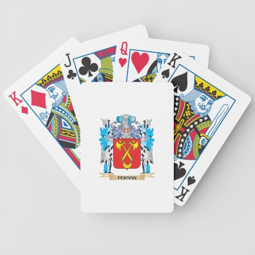 Fernan Coat of Arms - Family Crest Card Decks