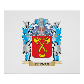 Fernan Coat of Arms - Family Crest Posters