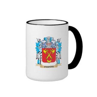Fernan Coat of Arms - Family Crest Ringer Mug