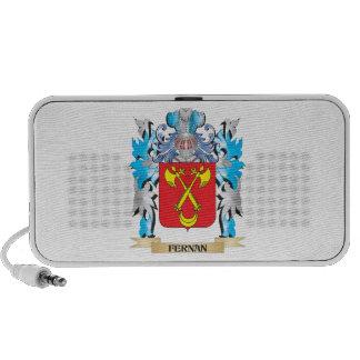 Fernan Coat of Arms - Family Crest Mini Speaker
