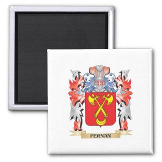 Fernan Coat of Arms - Family Crest Square Magnet