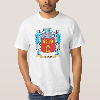 Fernan Coat of Arms - Family Crest T Shirts