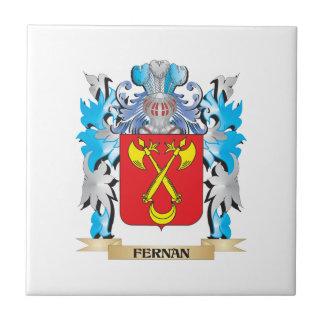 Fernan Coat of Arms - Family Crest Ceramic Tile