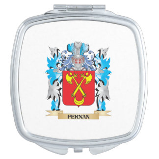 Fernan Coat of Arms - Family Crest Travel Mirrors