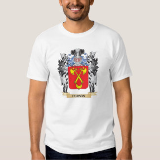 Fernan Coat of Arms - Family Crest Tshirts