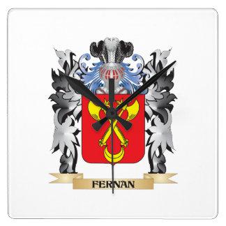Fernan Coat of Arms - Family Crest Wallclock