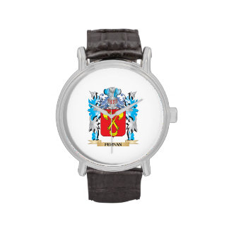 Fernan Coat of Arms - Family Crest Wrist Watches