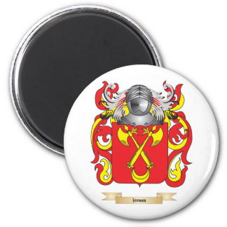Fernan Coat of Arms 6 Cm Round Magnet