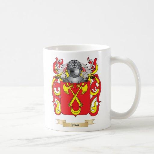 Fernan Coat of Arms Mugs