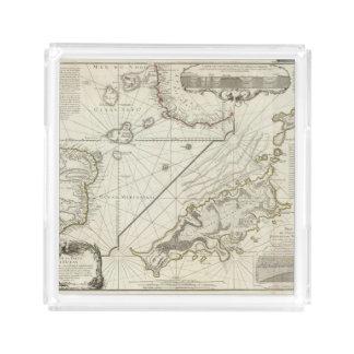 Fernand de Noronha Island Acrylic Tray