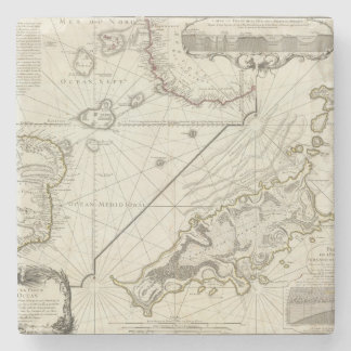 Fernand de Noronha Island Stone Coaster