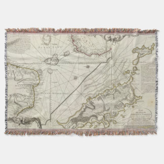 Fernand de Noronha Island Throw Blanket