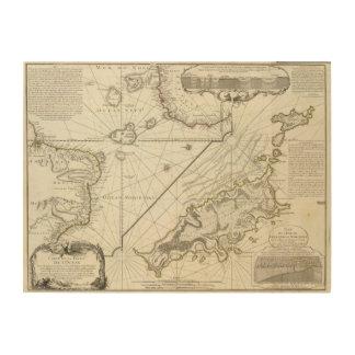 Fernand de Noronha Island Wood Print