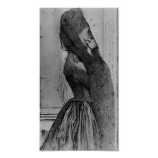 Fernand Khnopff - The veil Poster