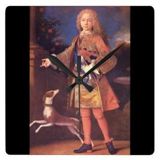 Fernando VI of Spain', Jean Ranc_Portraits Wallclock