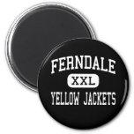 Ferndale - Yellow Jackets - Area - Johnstown Fridge Magnets