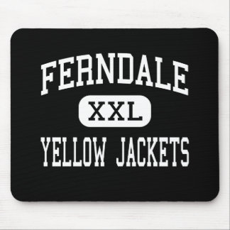 Ferndale - Yellow Jackets - Area - Johnstown Mouse Pad