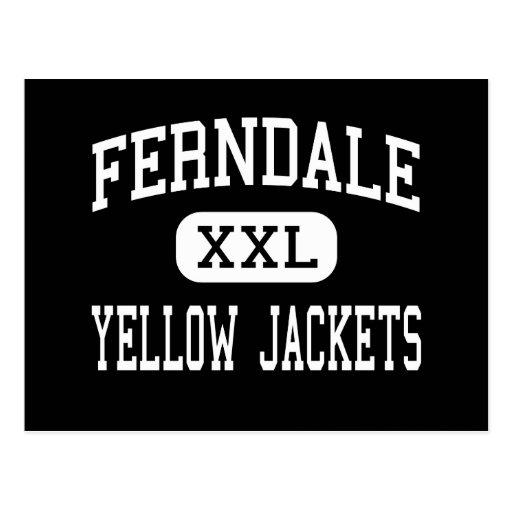 Ferndale - Yellow Jackets - Area - Johnstown Postcard