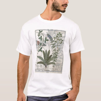Ferns, Brambles and Flowers T-Shirt