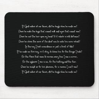 Fern's Poem Mouse Mat