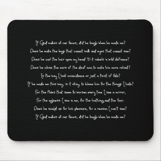 Fern's Poem Mouse Pad