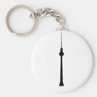 Fernsehturm Berlin Basic Round Button Key Ring
