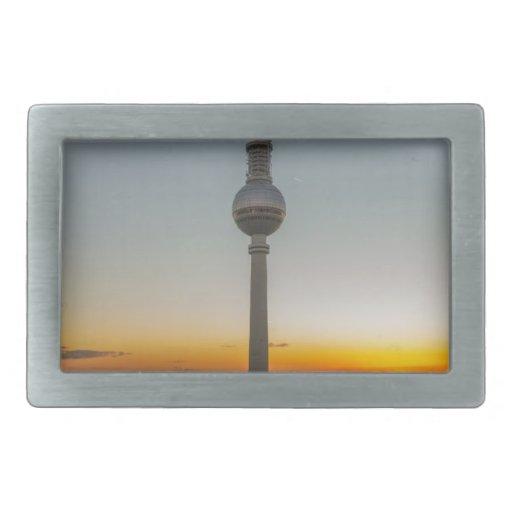 Fernsehturm Berlin, Berlin TV Tower, Germany Belt Buckle