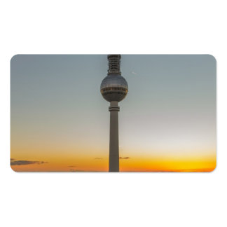 Fernsehturm Berlin, Berlin TV Tower, Germany Business Cards