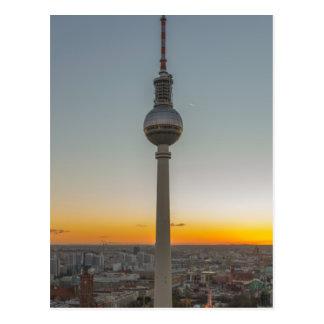 Fernsehturm Berlin, Berlin TV Tower, Germany Postcard