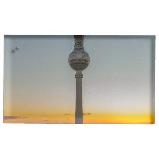 Fernsehturm Berlin, Berlin TV Tower, Germany Table Card Holders