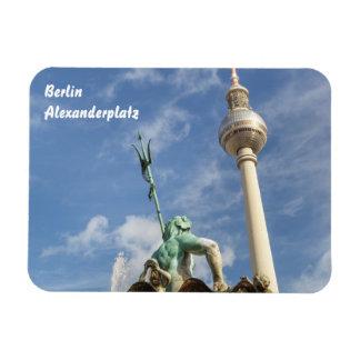 Fernsehturm in Berlin Rectangular Photo Magnet