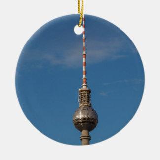 Fernsehturm Television Tower Alexanderplatz Berlin Christmas Tree Ornaments