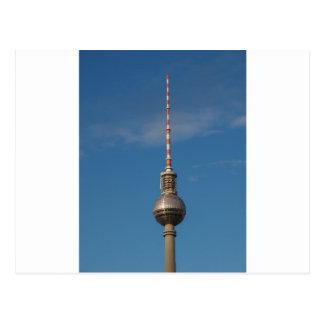 Fernsehturm Television Tower Alexanderplatz Berlin Postcard