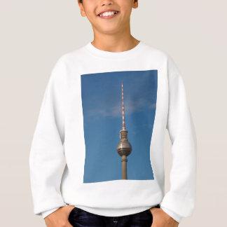 Fernsehturm Television Tower Alexanderplatz Berlin Sweatshirt