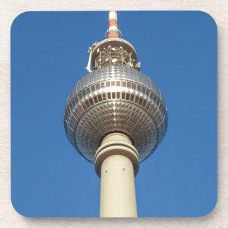 Fernsehturm Television Tower Berlin Beverage Coaster